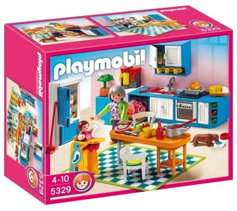 Kitchen Play Set Lewis Playmobil Kitchen 5329 From The Playmobil Dollhouse