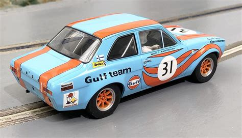 scalextric ford escort mk gulf edition home racing world