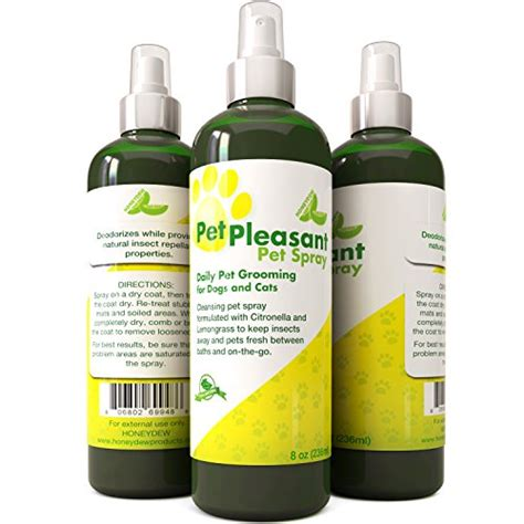 is lemongrass safe for dogs pet spray for dogs cats tick flea insect repellant with lemongrass
