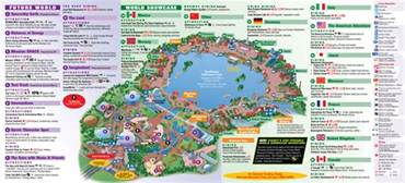 Epcot World Showcase Map by Epcot World Showcase Eleven Countries Are Represented At