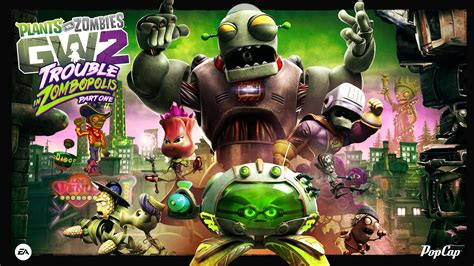 Plants Vs Zombies Garden Warfare For Xbox One by Plants Vs Zombies Garden Warfare 2 Gets Free Trouble In