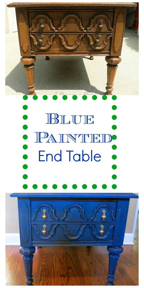 chalk painted end tables 555 best painted furniture images on pinterest furniture