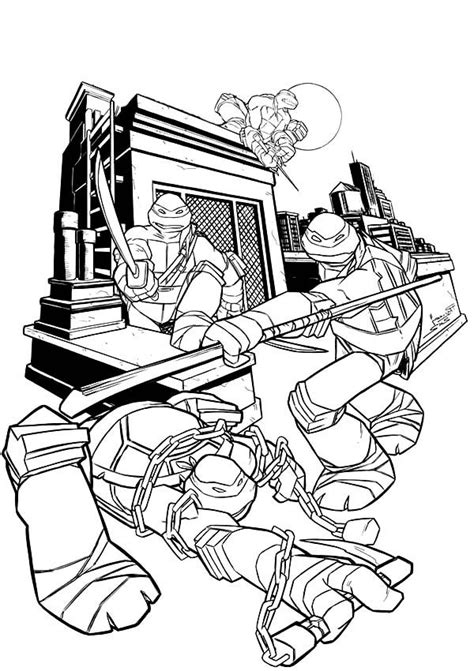 cool ninja coloring pages 71 best images about coloring pages on pinterest