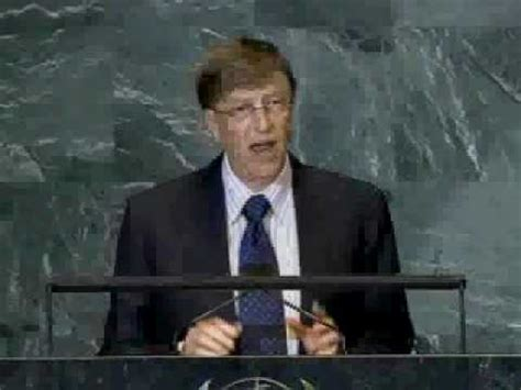 Mba Bill Gates Speech by No Sector Acting Alone Can Achieve The Goals Of Humanity