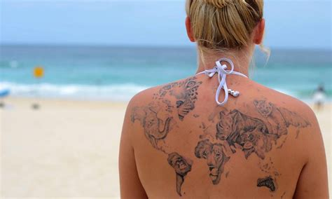 another 11 tattoos inspiring you to travel the world