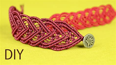heart macrame pattern macram 233 bracelet tutorial for a lovely and elegant heart