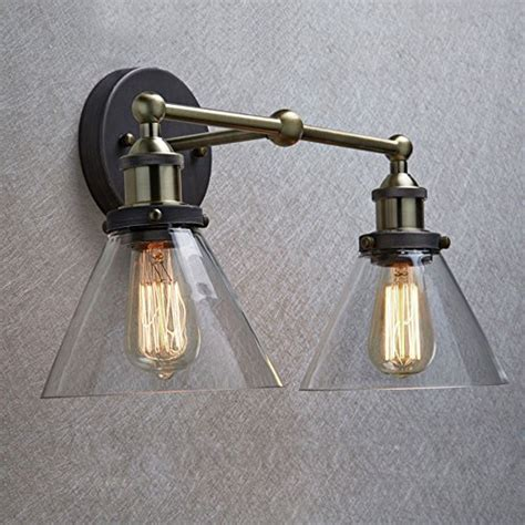 Edison Light Sconce by Claxy Ecopower Simplicity Industrial Edison Antique Glass