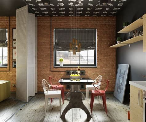 trendy dining room tables 10 trendy industrial style dining rooms