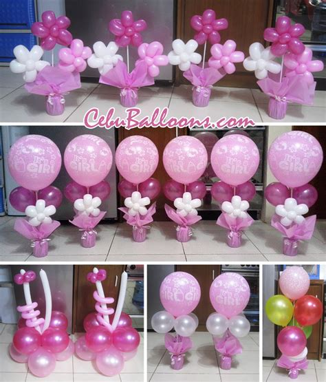 table centerpiece for baptism balloon centerpieces for tables cebu balloons and