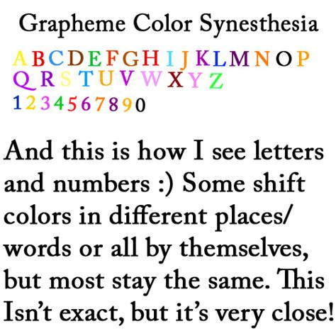 grapheme color synesthesia grapheme color synesthesia by wes615 on deviantart