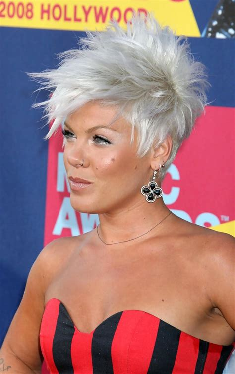 hairstyles short hair pink pink spiked hair pink short hairstyles looks stylebistro