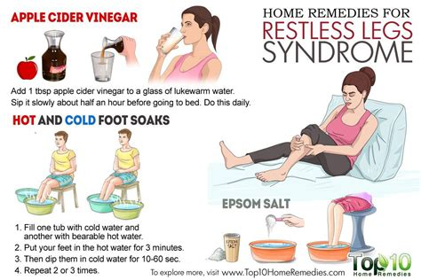 home remedies for restless legs top 10 home