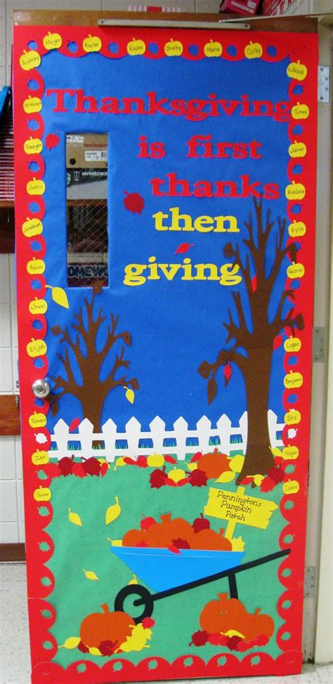 thanksgiving door bulletin board ideas pinterest