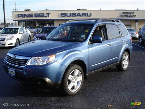blue subaru forester 2009 2009 subaru forester autos post