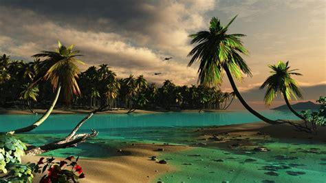 imagenes anime en 3d fondos 3d de playas