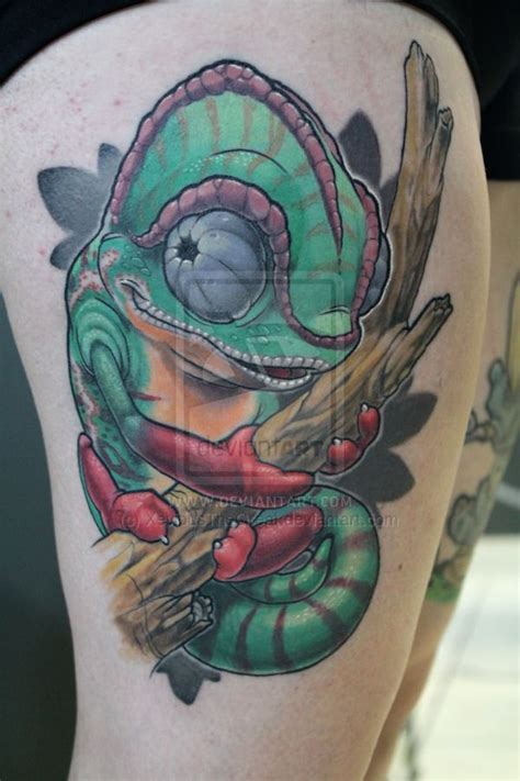chameleon tattoo designs 1000 ideas about chameleon on tattoos