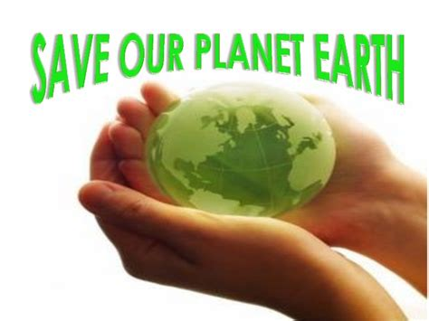 Save Our Planet save our planet earth