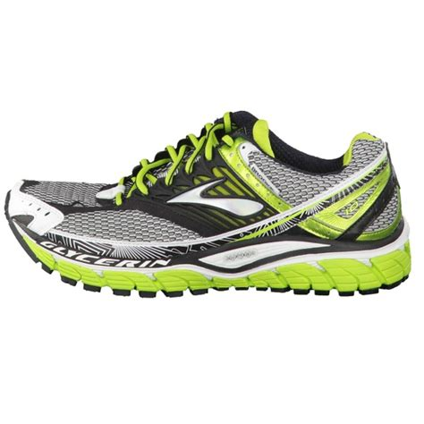 lime green athletic shoes s glycerin 10 running shoes lime green black