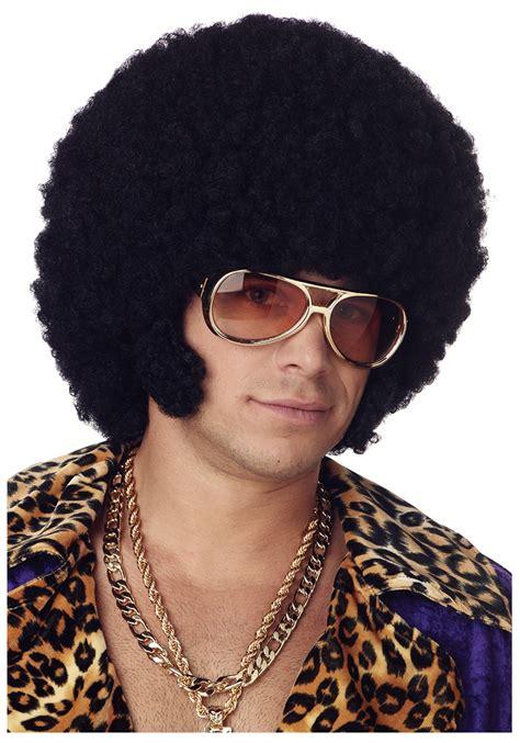wigs world of wigs costume wigs styles men 70s shag afro chops wig