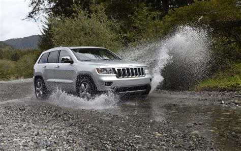 Water Jeep Wallpaper Jeep Splash Water Puddle Jeep Grand