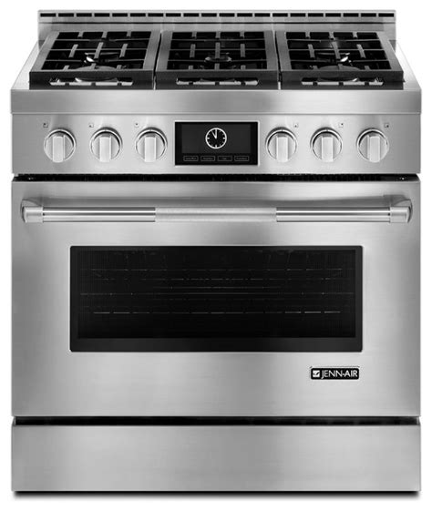 Kitchen Appliances Gas Stove Jenn Air 36 Quot Pro Style Gas Range Stainless Steel