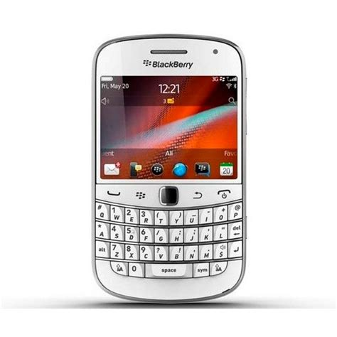 White Blackberry Pearl Announced For Uk Release For The Amongst Us by Blackberry Bold 9900 Available At Vodafone Uk In White