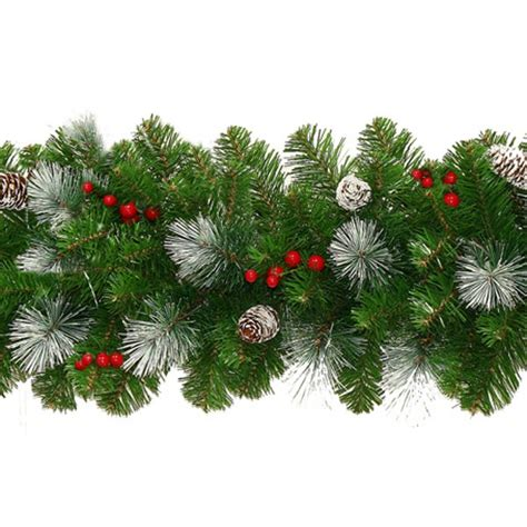 Decorated Homes For Christmas Christmas Garlands And Wreaths From Xmasdirect