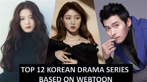 film korea webtoon top 12 korean drama series based on webtoon series youtube