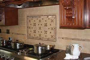 Backsplash Ideas For Kitchens eureka kitchen ornate tile backsplash behind stove jpg