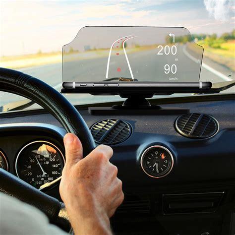 Head Up Display Auto by De Auto Hud Head Up Display Projektor Handy Halter Gps