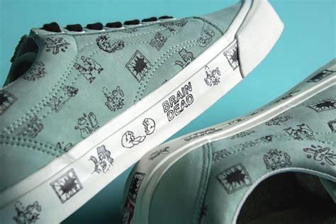Vans X Brain Deads brain dead x vans collection sneaker bar detroit