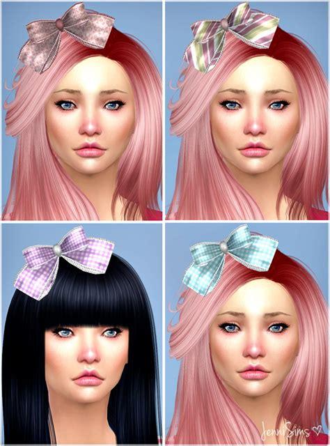 bow eye hair accessory at jenni sims 187 sims 4 updates hair bows sims 4 juice box and bow hair at jenni sims 187