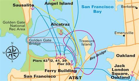 map of sausalito area san francisco maps for visitors bay city guide san