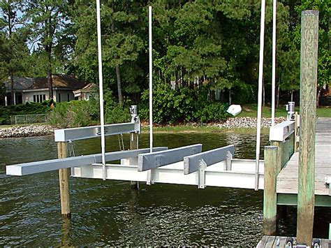 west marine cornelius nc tide tamer 4 piling cable boat lifts on lake norman nc