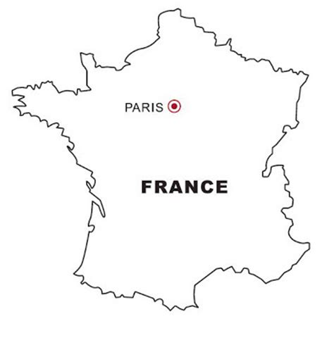 coloring page map of france coloring map of france color area