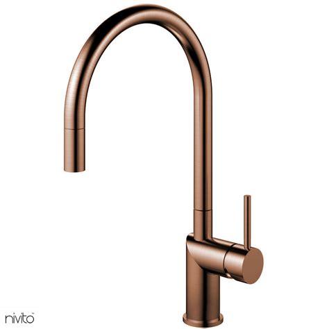 copper kitchen faucet pullout hose    images