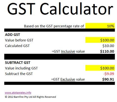 gst calculator atotaxrates info