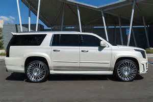 Cadillac Escalade Modified Another Out Caddy Escalade By Forgiato