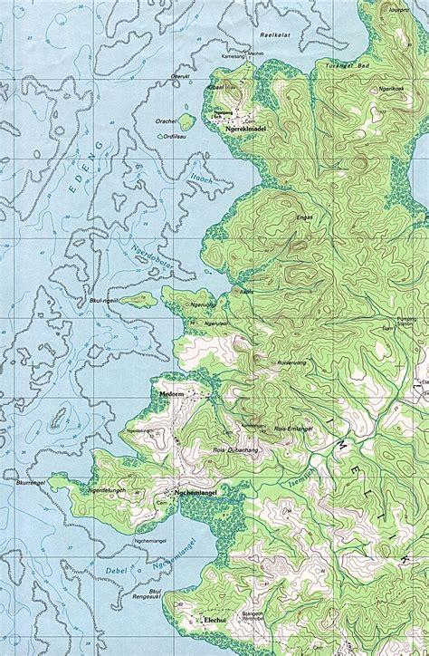 palau babeldaob island map 1up travel maps of palau palau aimeliik imeliik