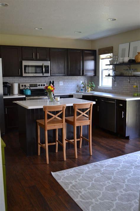 light cabinets dark countertops hometalk kitchen reveal dark cabinets light counters