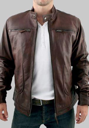 model jaket kulit asli  merk jakarta bali