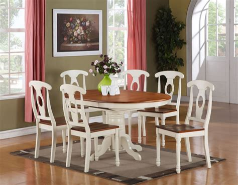 Kitchen And Dining Room Sets 5pc Oval Dinette Kitchen Dining Room Set Table With 4