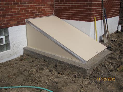cleargress basement entrance door hton concrete products