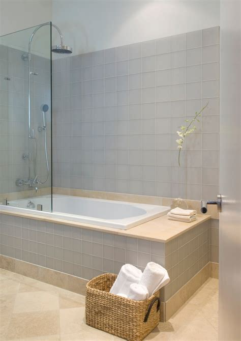 Tub Shower Combo Bathroom Modern With Basket Bath Faucet Bathroom Tub Shower Combo