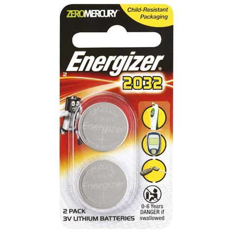 Baterai Cr2032 3v energizer 3v cr2032 lithium coin batteries 2 pack ebay