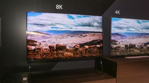 samsung 8k tv samsung q9s 85 inch tv uses ai to make its own 8k at ces cnet