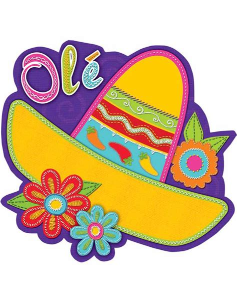 clipart festa mexican sombrero pictures cliparts co