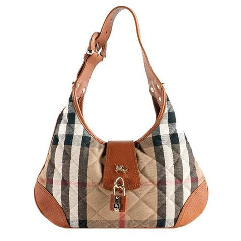 Burberry Patchwork Check Bag Purses Designer Handbags And Reviews At The Purse Page by Burberry Quilted House Check Small Hobo Handbag
