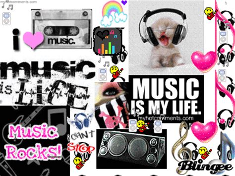 collage music music collage picture 82710404 blingee com