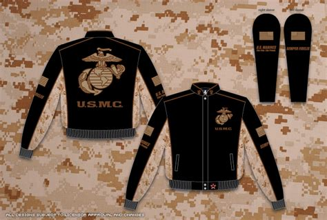 jh design usmc jacket u s marines mens twill jacket by jh design
